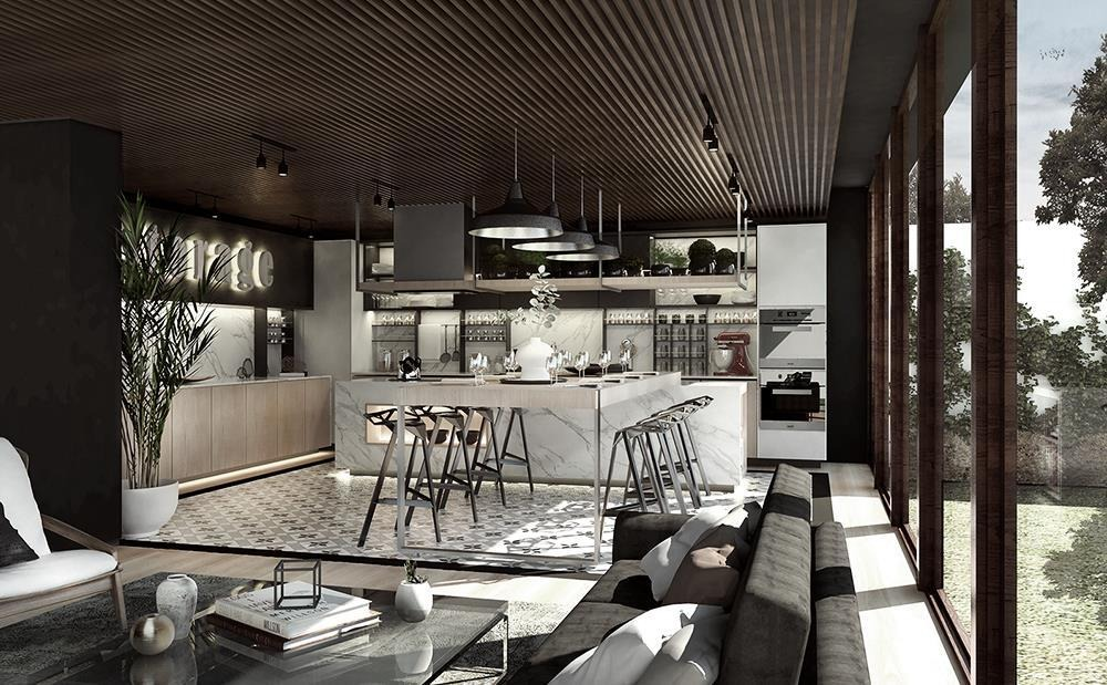 proyecto concepto living & arts