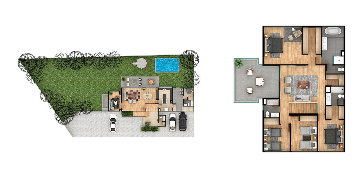 proyecto condominio 5 reinas