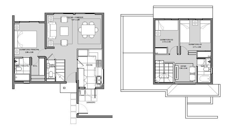 proyecto condominio aires de buin