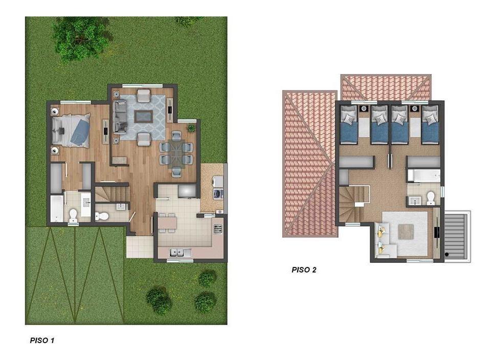 proyecto condominio casas del rahue