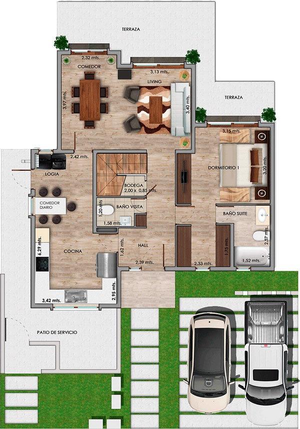 proyecto condominio cataluña
