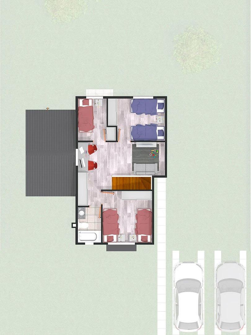 proyecto condominio las araucarias