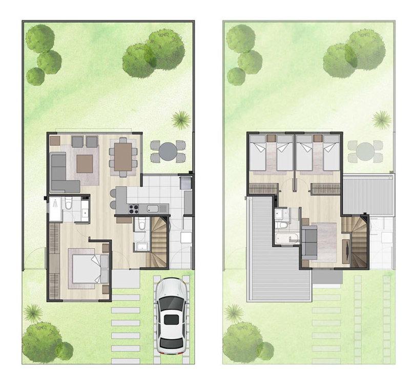 proyecto condominio los huertos