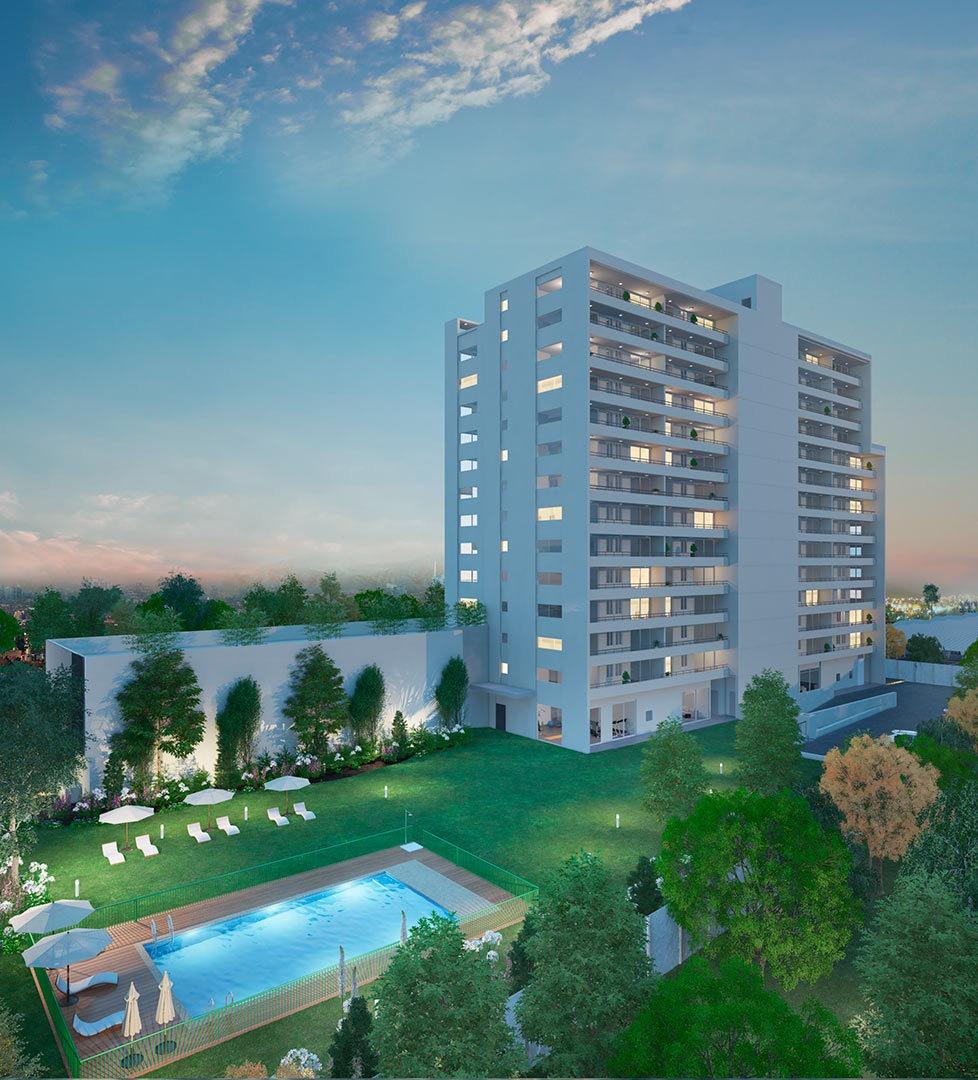 proyecto condominio parque vespucio