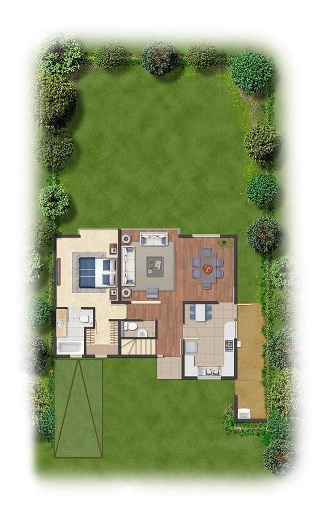 proyecto condominio plaza buin - etapa 6