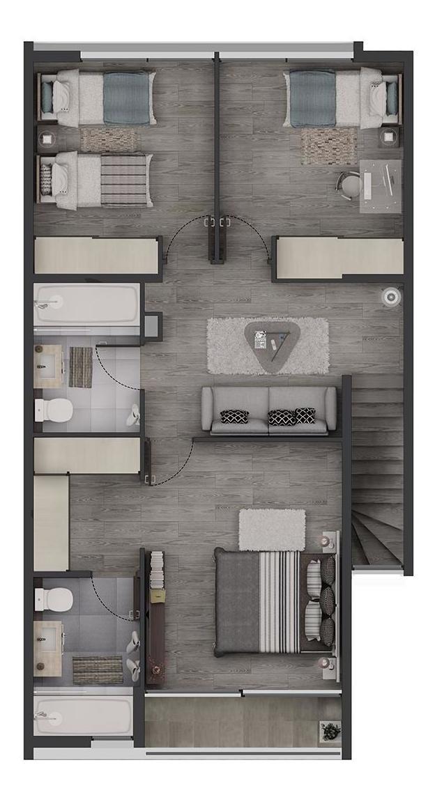 proyecto condominio plaza el roble - townhouse