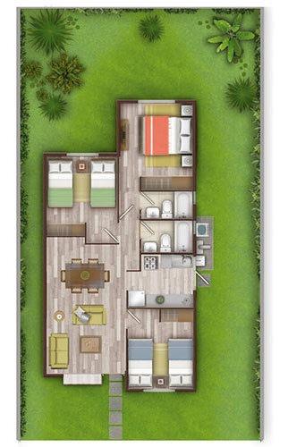proyecto condominio prados de buin