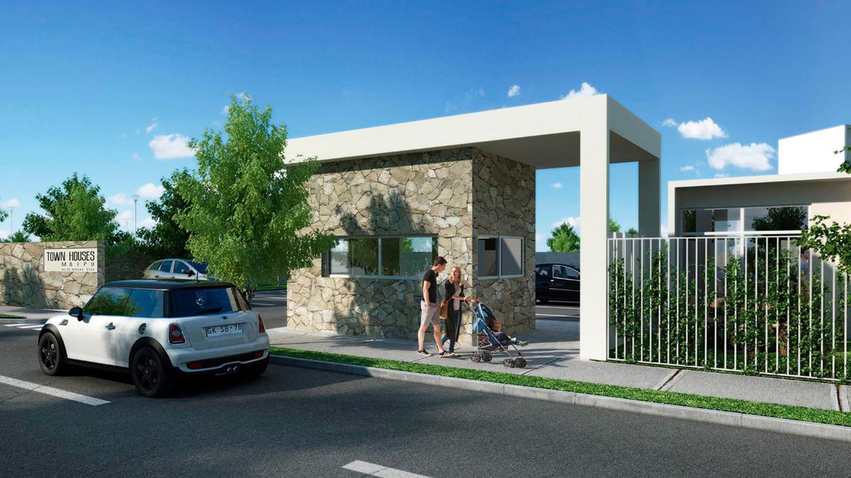 proyecto condominio townhouses maipú