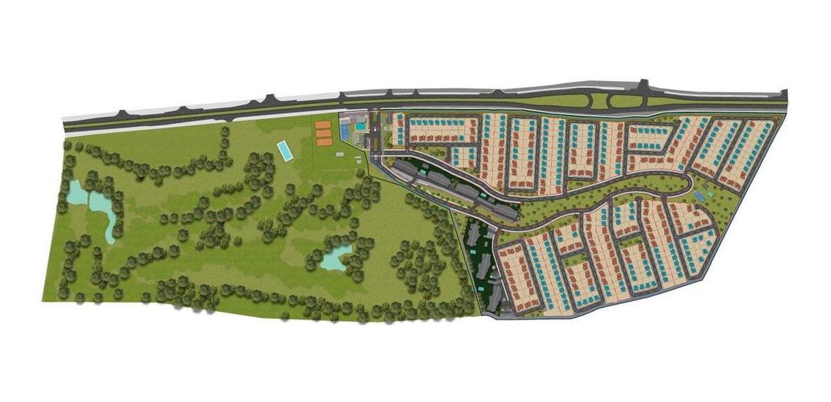 proyecto condominio vista golf - casas