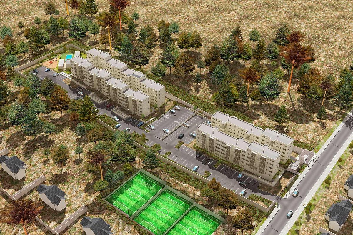 proyecto condominio vista los aromos