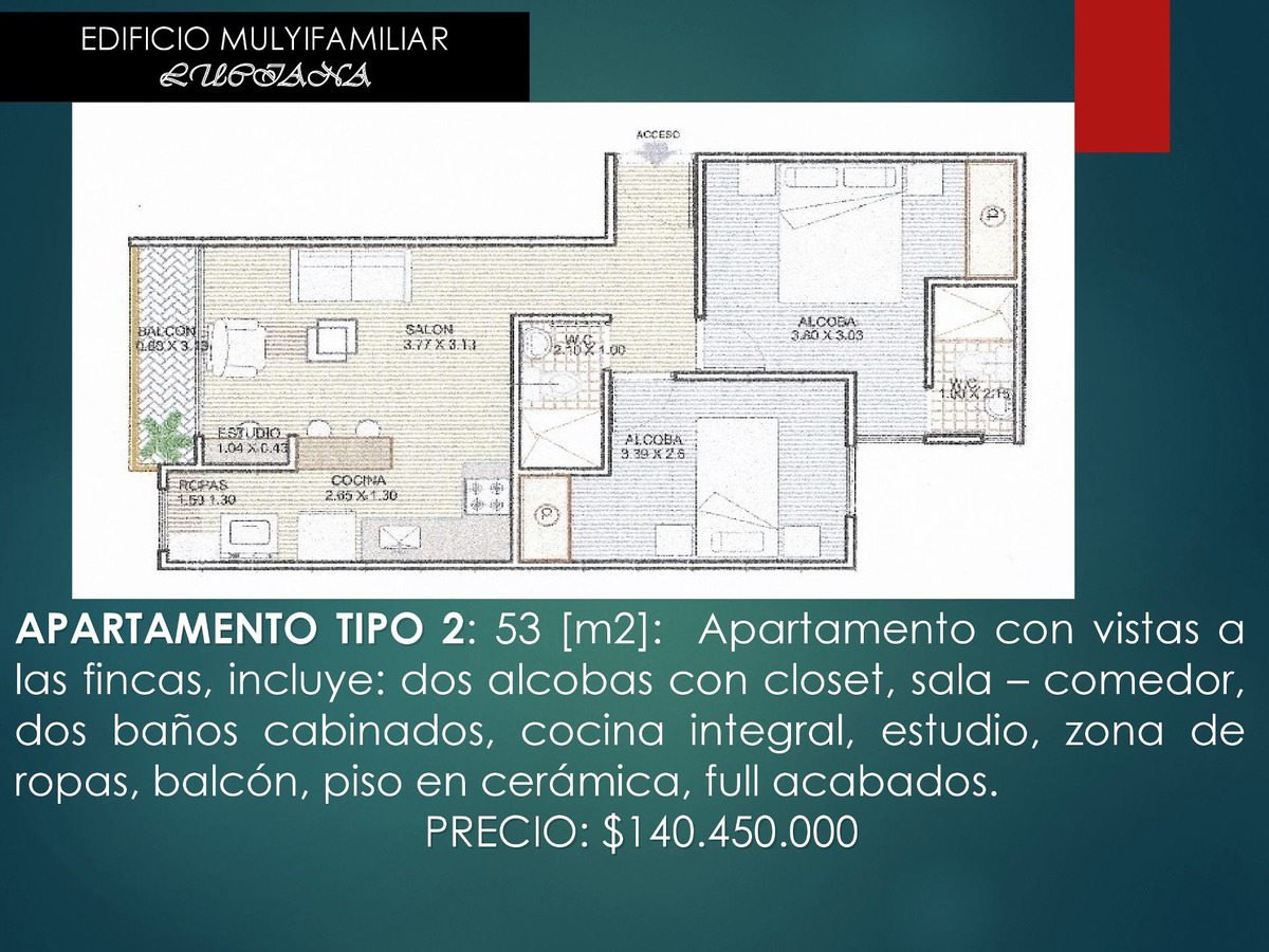 proyecto de apartamentos en caldas