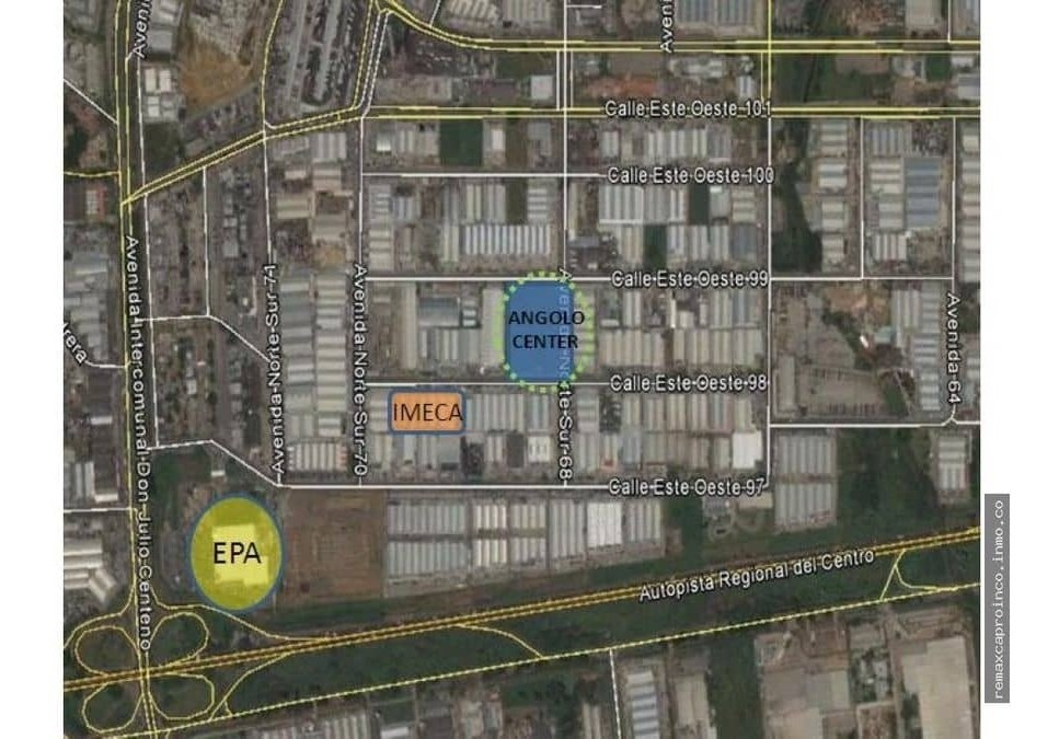 proyecto de inversion zona industrial castillito