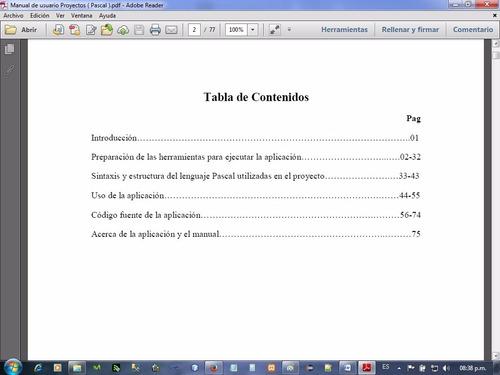 proyecto de lenguaje de programación pascal