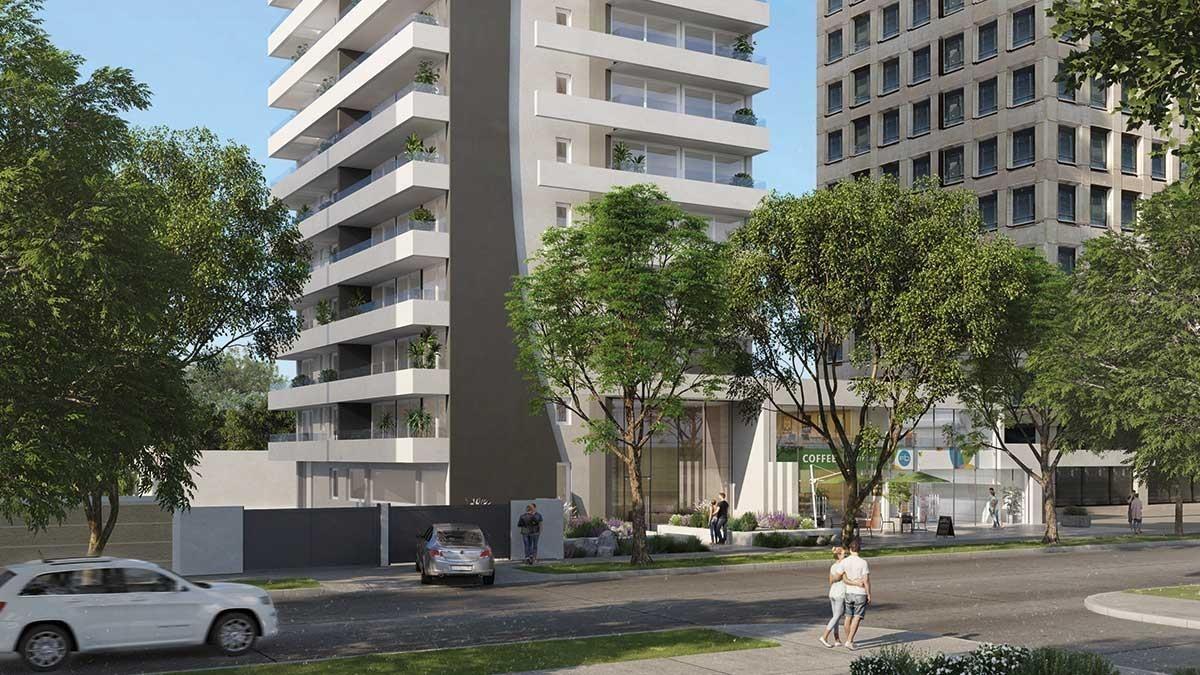 proyecto edificio 10 norte