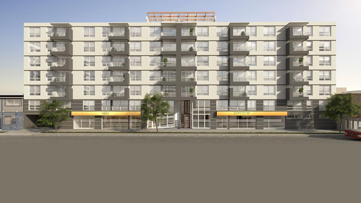 proyecto edificio barrio zenteno