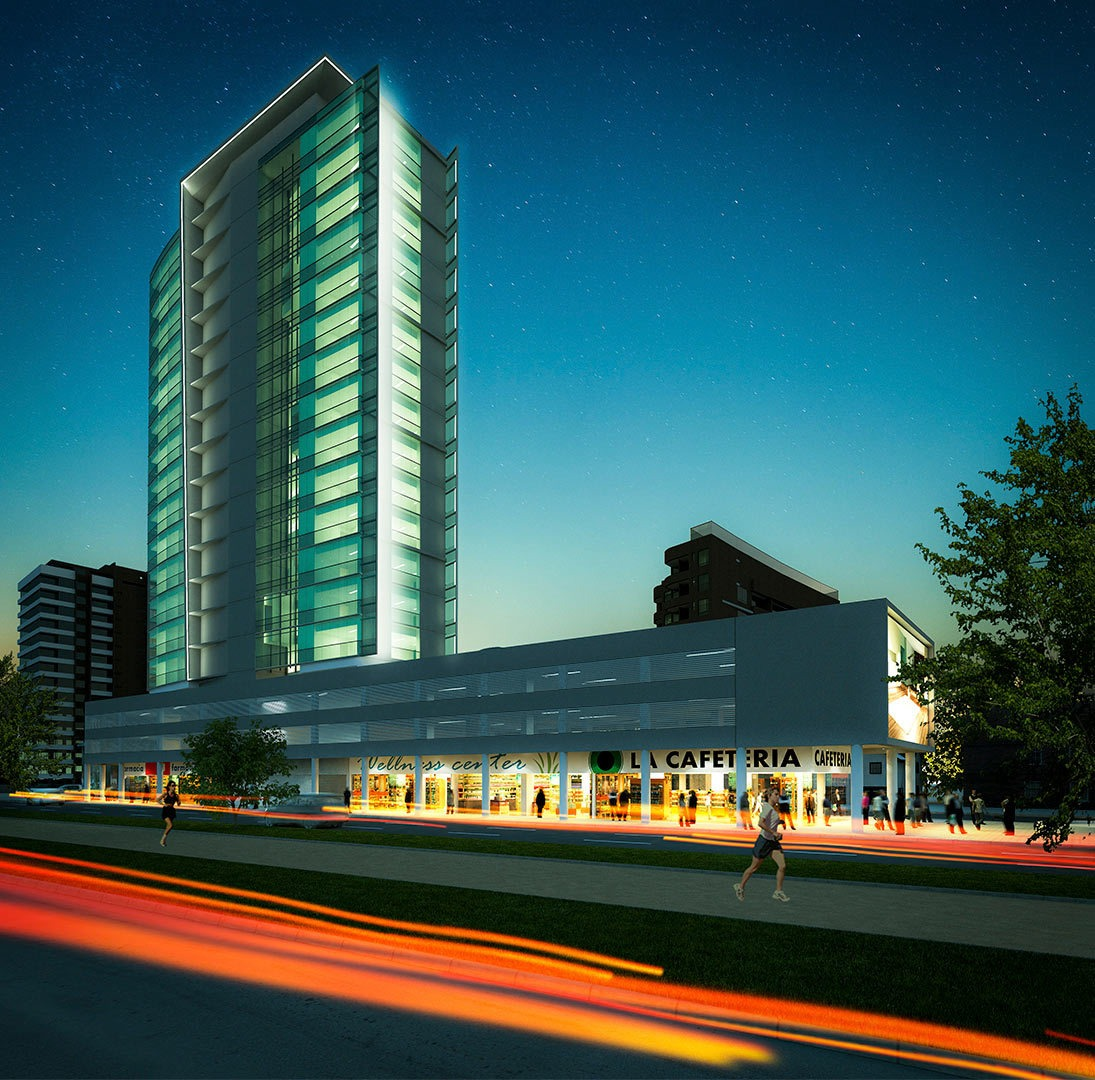 proyecto edificio contemporáneo
