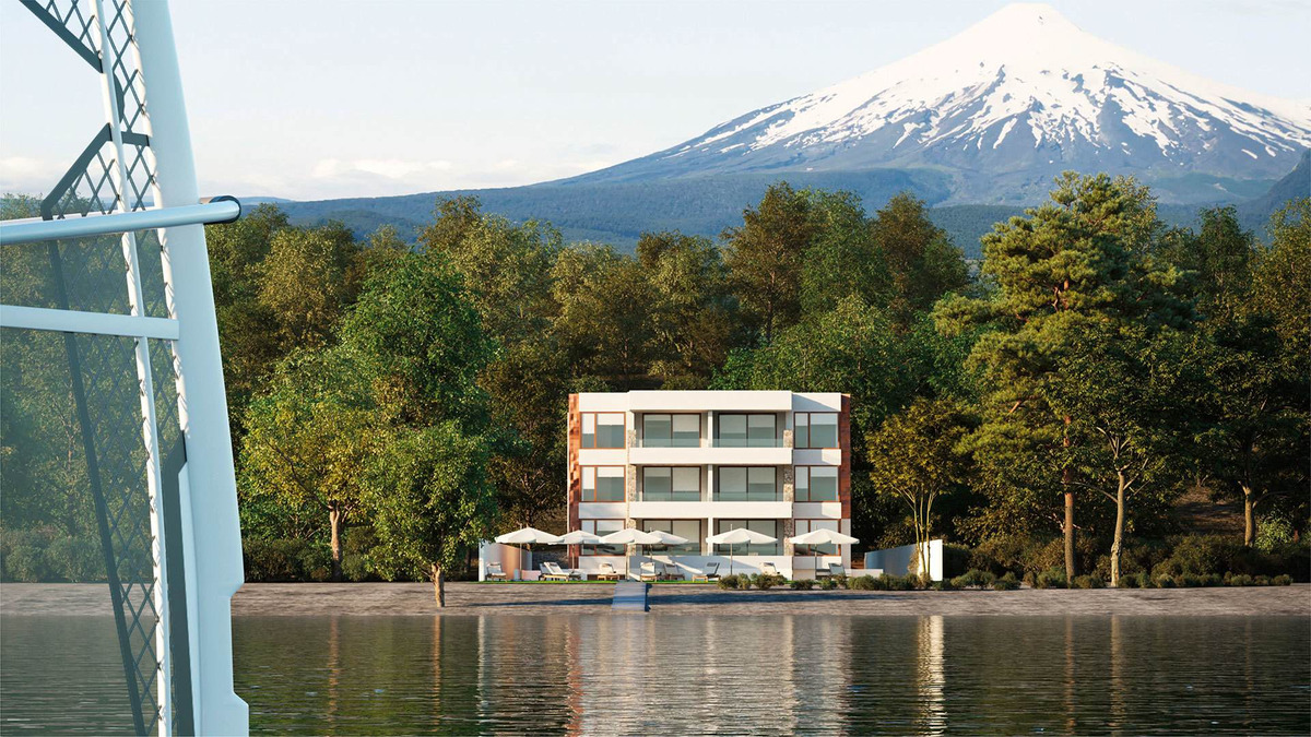proyecto edificio del lago