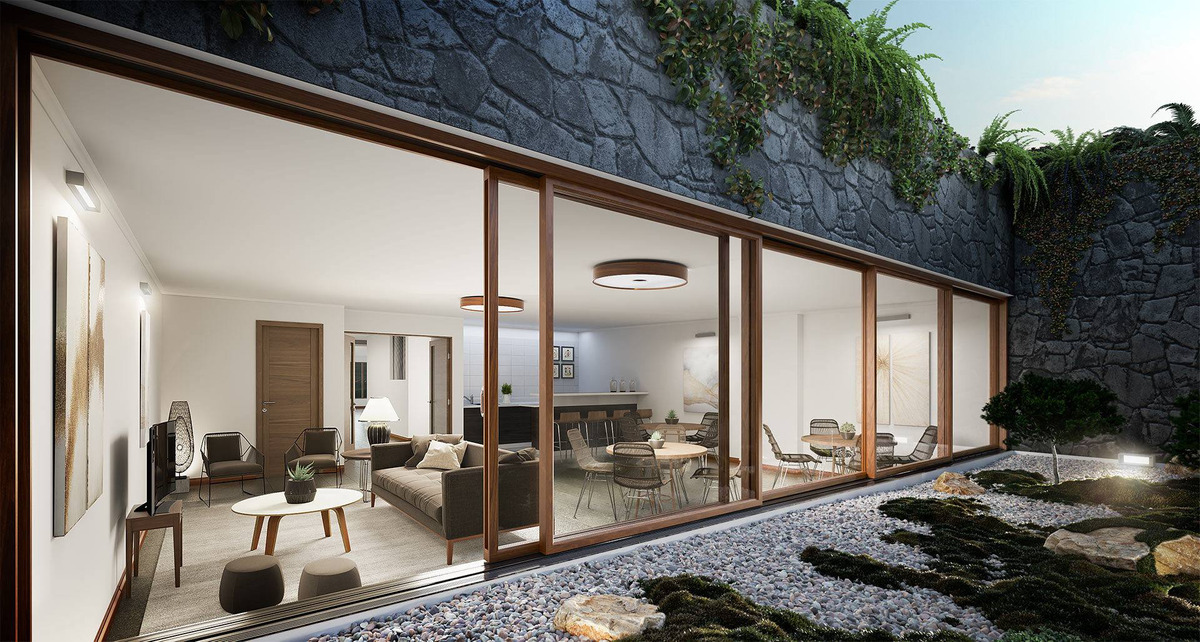 proyecto edificio jardines de klenner