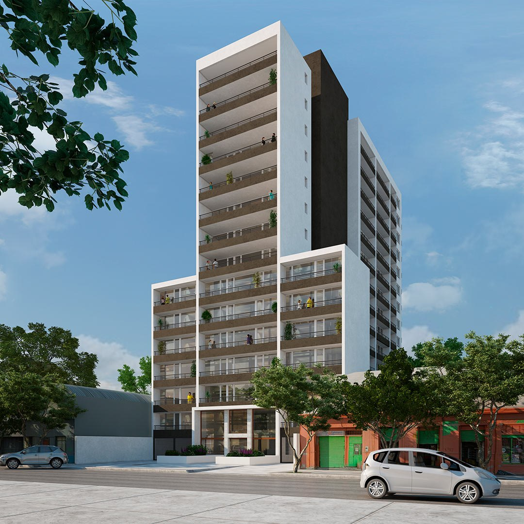 proyecto edificio neomaipú