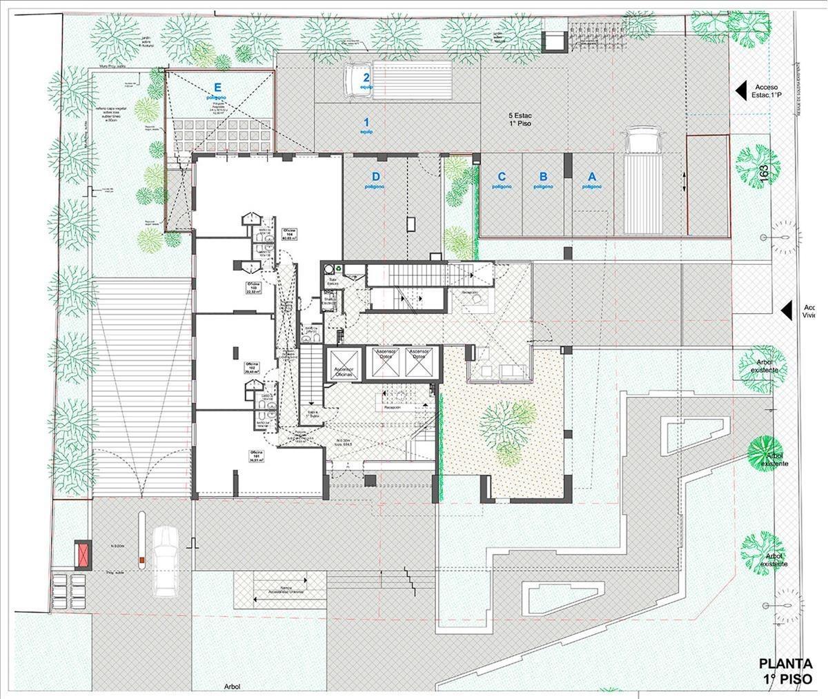 proyecto edificio nevería oriente - oficinas