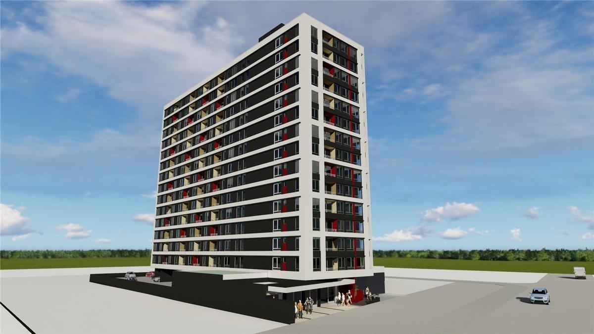 proyecto edificio parque laguna