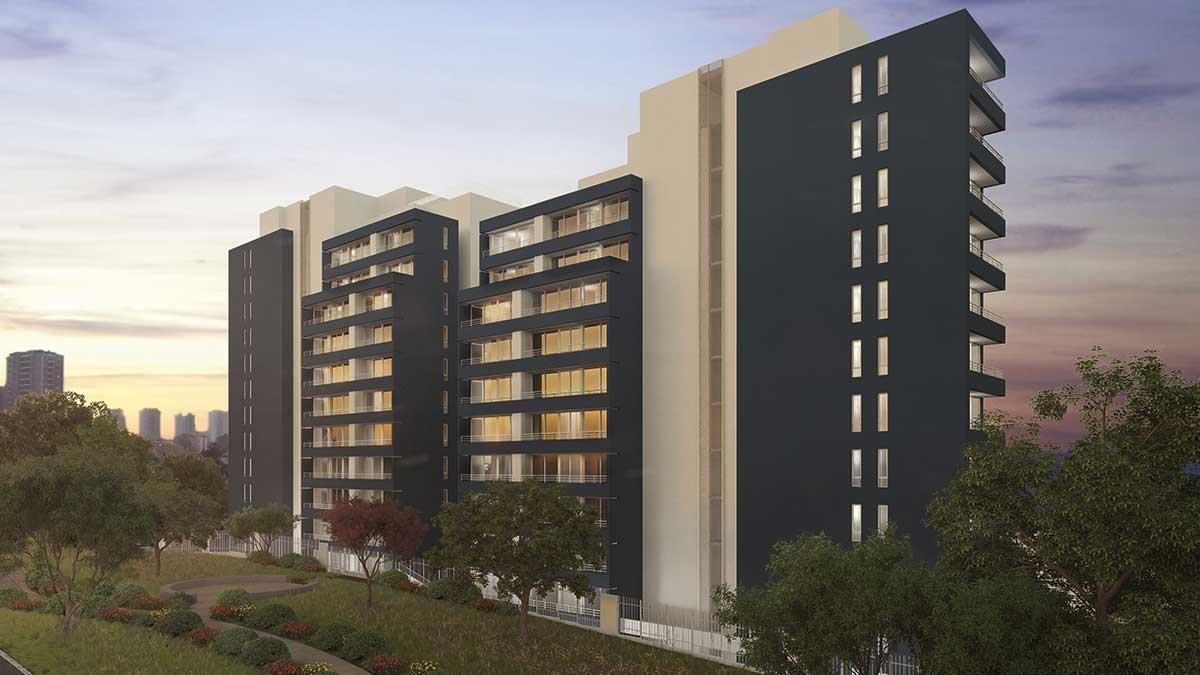 proyecto edificio parque los abedules