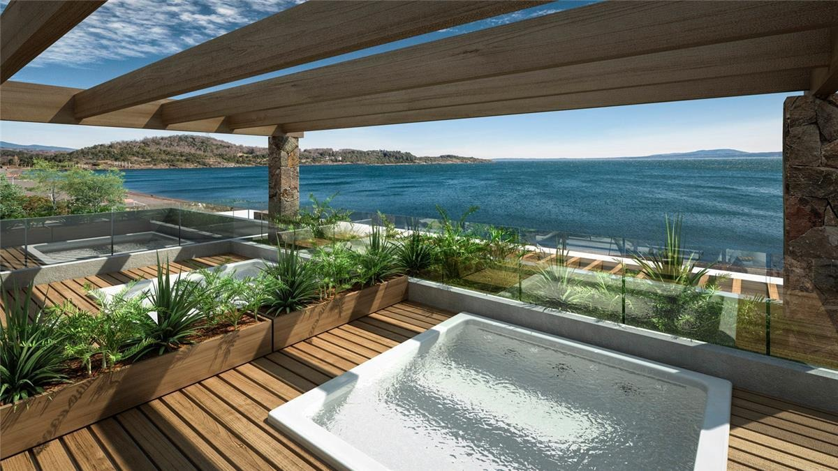 proyecto edificio playa pucón