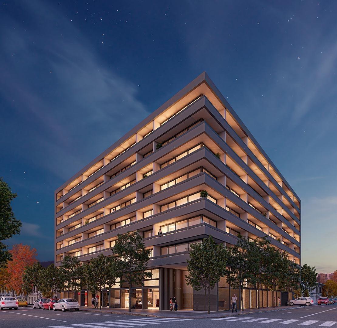 proyecto edificio punto arq barrio hípico