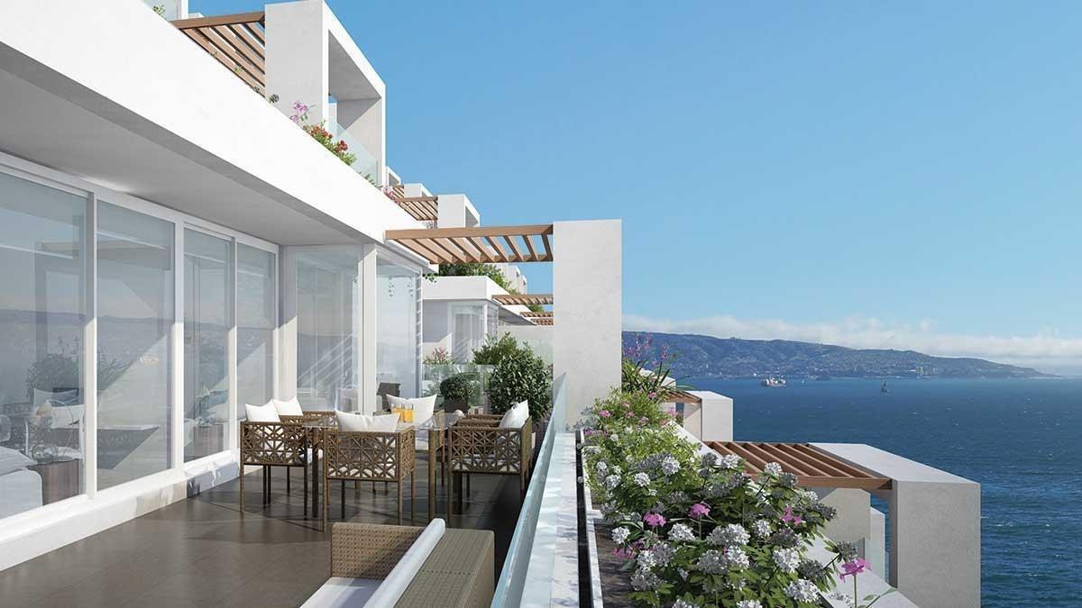 proyecto edificio terrazas de cochoa