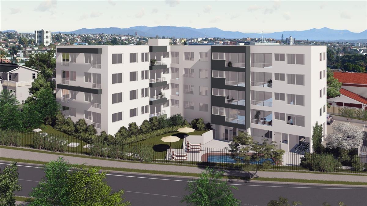 proyecto edificio vista verde