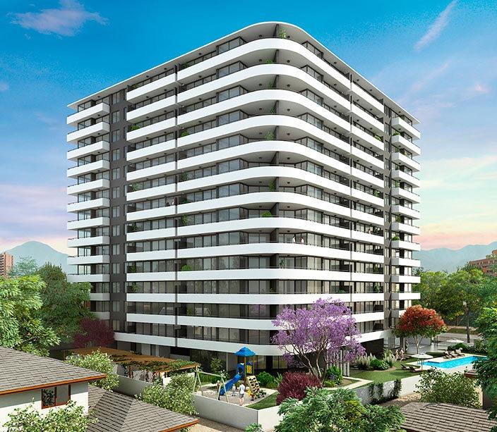 proyecto edificio walker martínez 1155