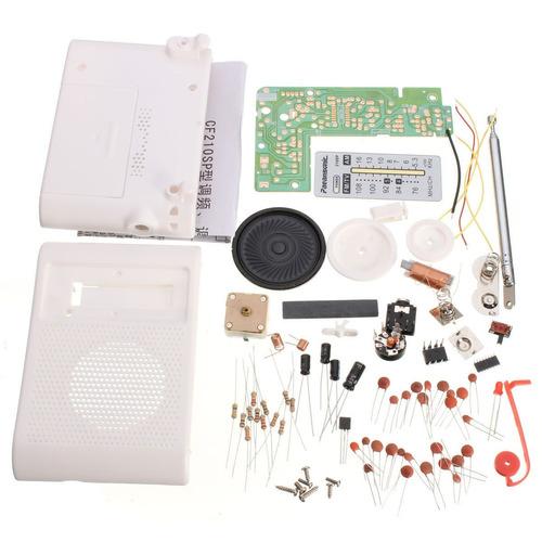proyecto electrónico para armar soldar radio am y fm cautin