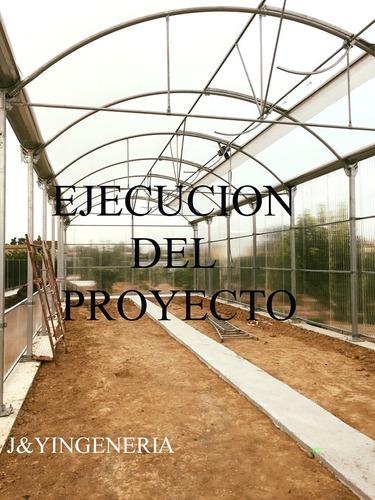proyecto en invernadero