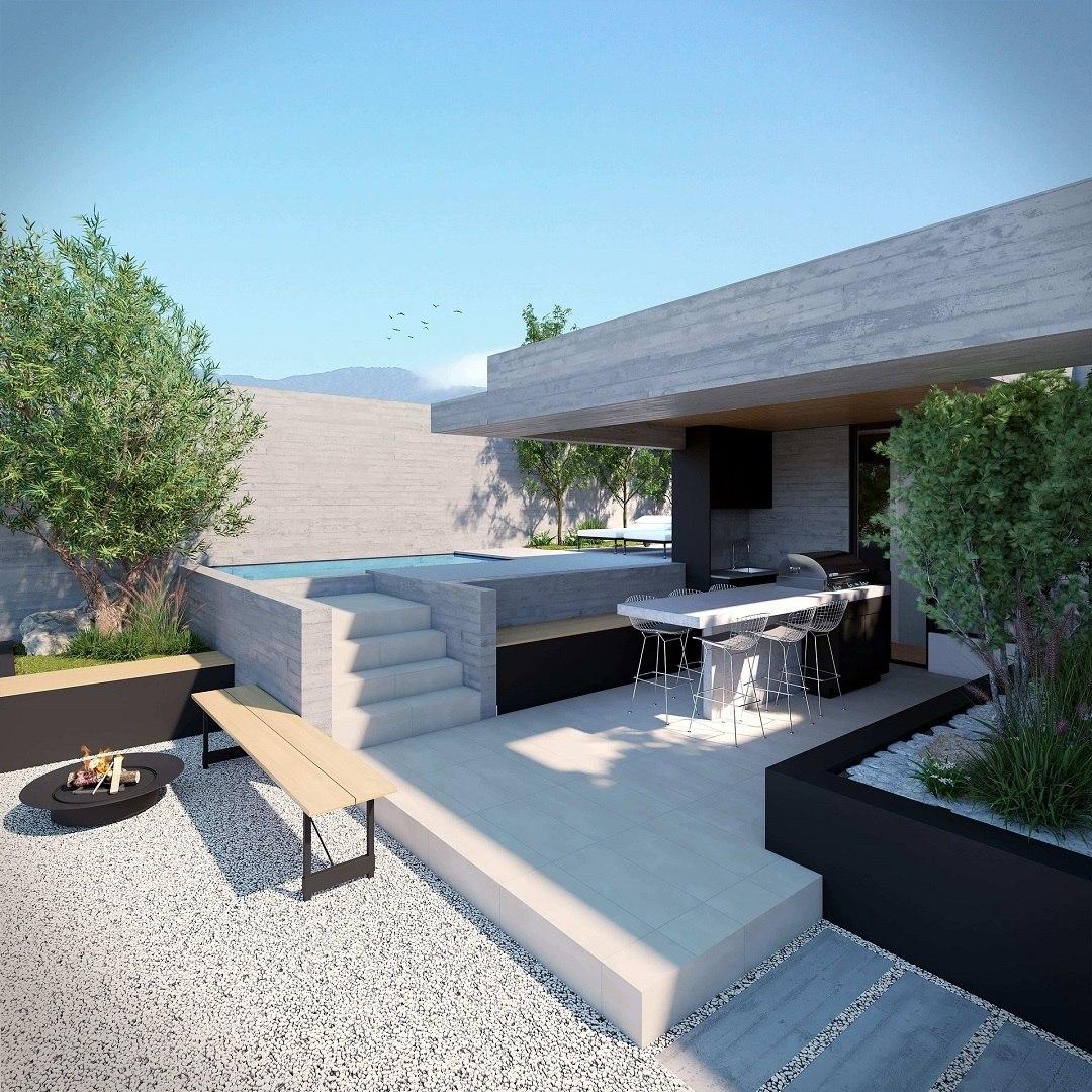 proyecto espoz jardín del este