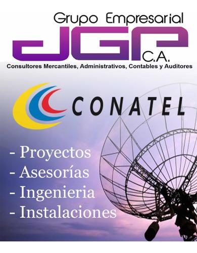 proyecto factibilidad ante conatel emisoras tv internet wifi