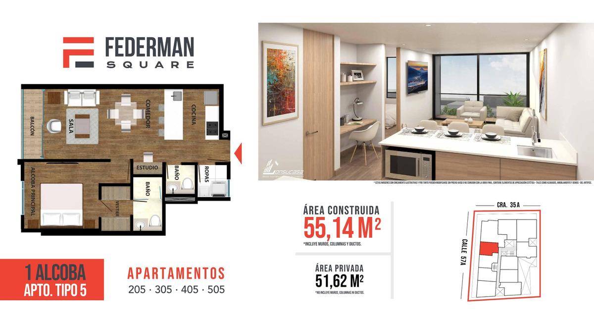 proyecto federman square apartamentos
