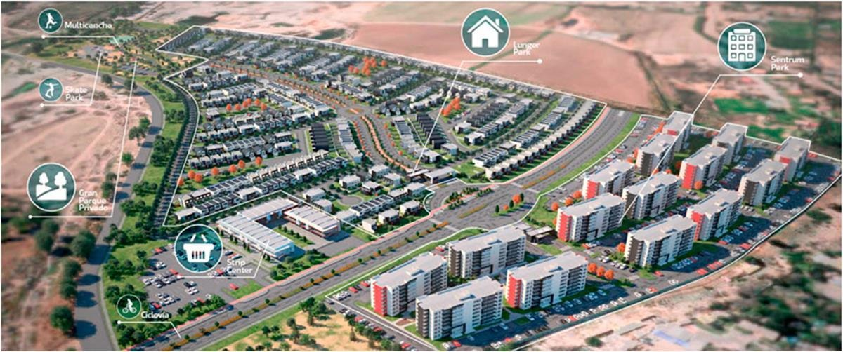 proyecto hacienda el tejar sentrum park