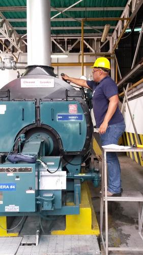 proyecto, instalacion y mantenimiento de calderas