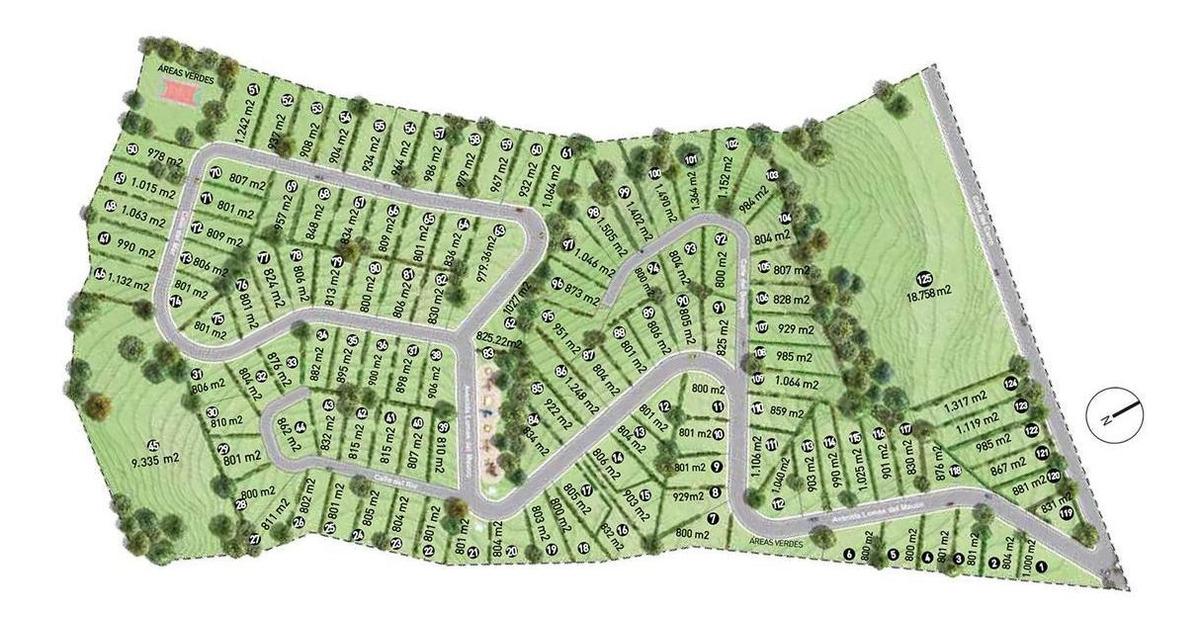 proyecto lomas del mauco - barrio privado