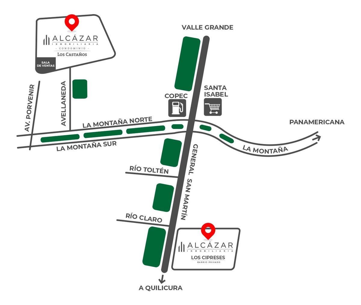 proyecto los cipreses - barrio privado