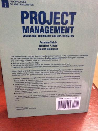 proyecto managmen. avraham shtub