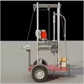 Proyecto Maquina Perforadora De Pozos