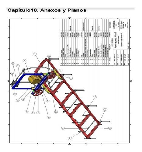 proyecto para fabricar aserradero portatil movil