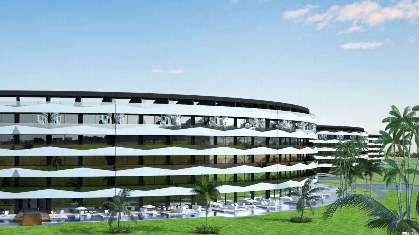 proyecto para inversión frente al hotel hard rock punta cana