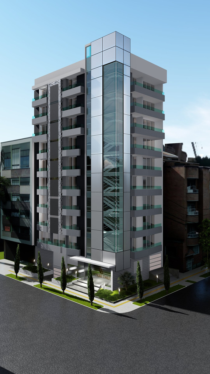 proyecto torre dali en venta laureles medellin
