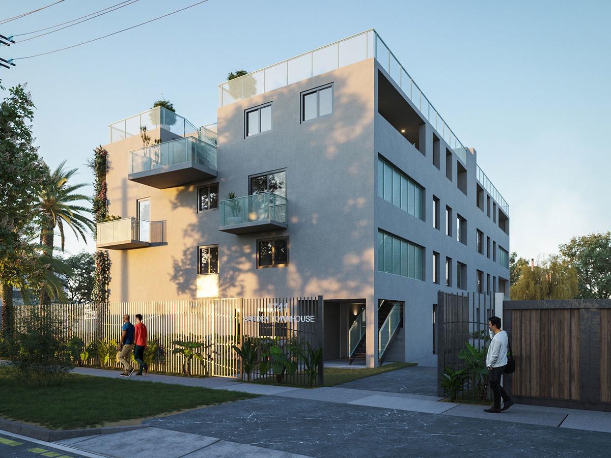 proyecto townhouse garden