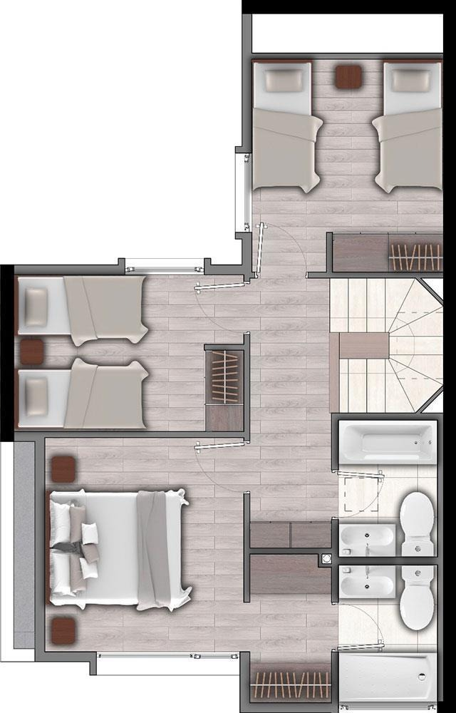 proyecto townhouse palena
