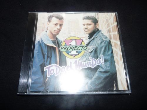 proyecto uno todo el mundo cd merengue hip hop house