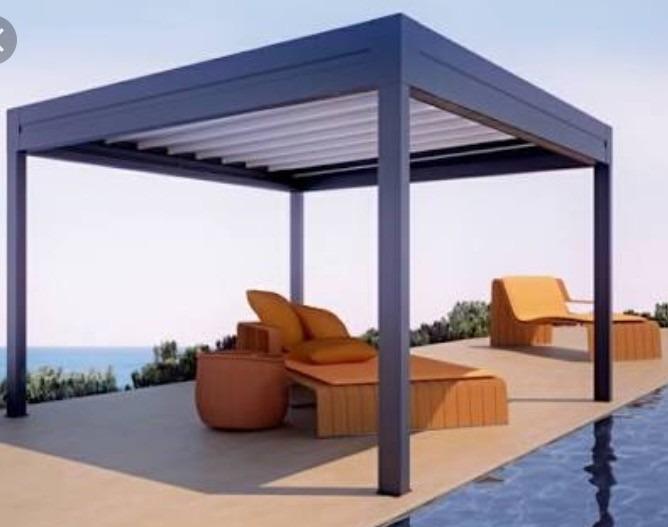 Proyecto Y Diseño De Pergolas Para Jardin O Terraza - $ 800.00 en ...