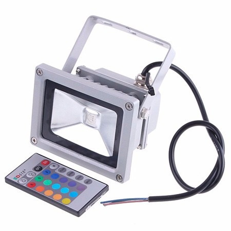 proyector 10 watts rgb